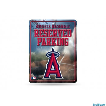 Anaheim Angels metal parking sign | Final Playoff