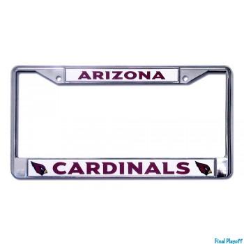 Arizona Cardinals license plate frame holder | Final Playoff