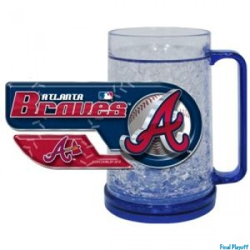 Atlanta Braves freezer mug | Final Playoff
