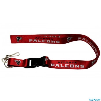 Atlanta Falcons lanyard keychain detachable | Final Playoff