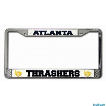 Atlanta Thrashers license plate frame holder | Final Playoff