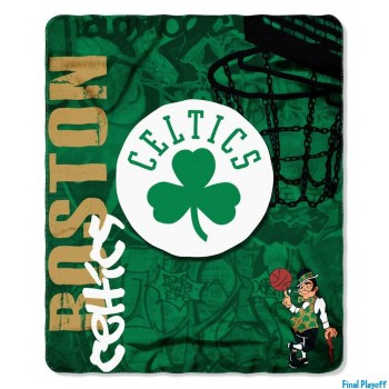 Boston Celtics fleece throw blanket | Final Playoff