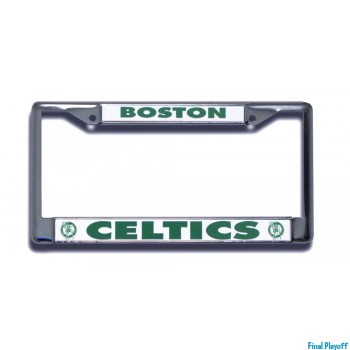 Boston Celtics license plate frame holder | Final Playoff