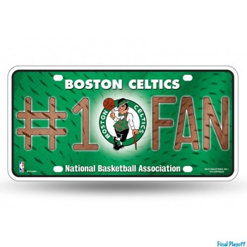 Boston Celtics metal license plate | Final Playoff