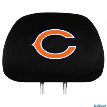 Chicago Bears headrest covers 2pc | Final Playoff