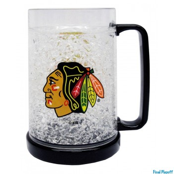 Chicago Blackhawks freezer mug | Final Playoff