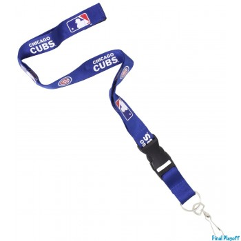 Chicago Cubs lanyard keychain detachable | Final Playoff