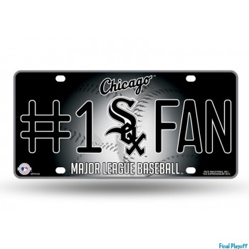 Chicago White Sox metal license plate | Final Playoff