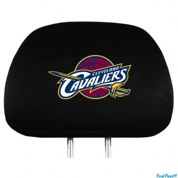 Cleveland Cavaliers headrest covers 2pc | Final Playoff