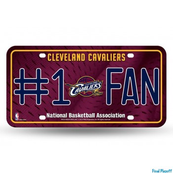 Cleveland Cavaliers metal license plate | Final Playoff