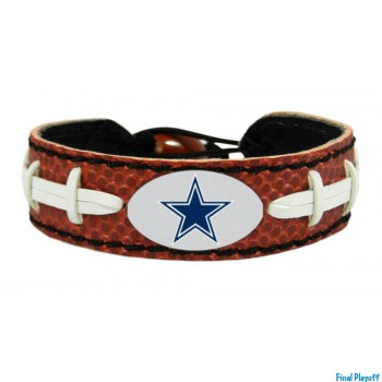 Dallas Cowboys leather bracelet | Final Playoff