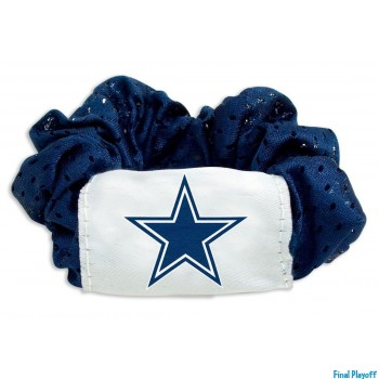 Dallas Cowboys hair scrunchie | Final Playoff