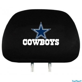 Dallas Cowboys headrest covers 2pc   Final Playoff