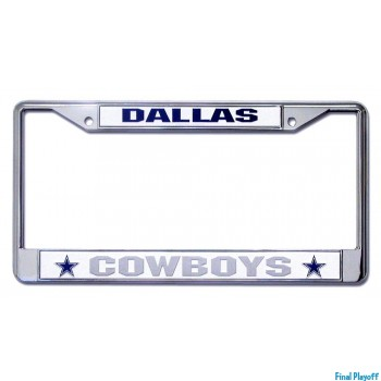 Dallas Cowboys license plate frame holder | Final Playoff