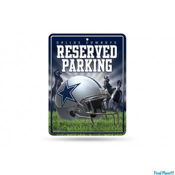 Dallas Cowboys metal parking sign | Final Playoff