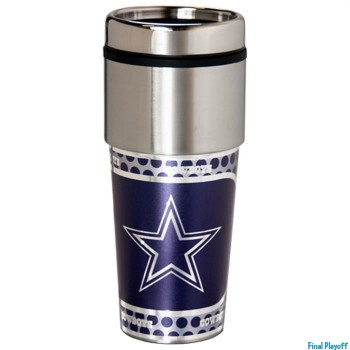 Dallas Cowboys travel mug tumbler | Final Playoff