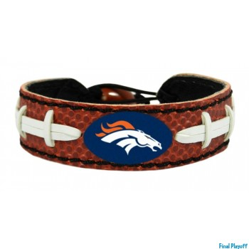 Denver Broncos leather bracelet | Final Playoff