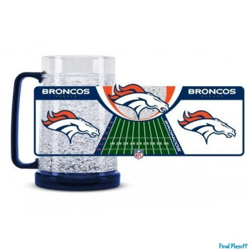 Denver Broncos freezer mug | Final Playoff