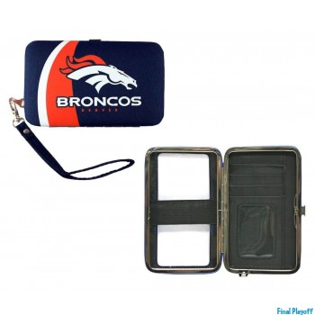 Denver Broncos phone case wallet | Final Playoff