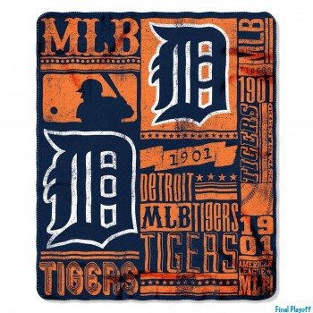 Detroit Tigers fleece throw blanket | Final Playoff