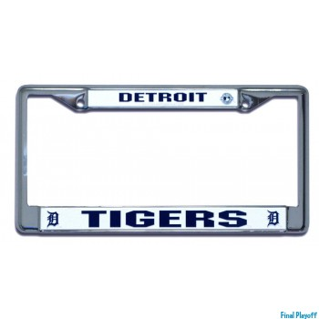 Detroit Tigers license plate frame holder | Final Playoff