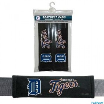 Detroit Tigers seat belt pads | Final Playoff