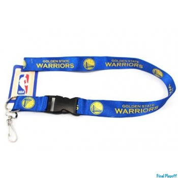 Golden State Warriors lanyard keychain detachable | Final Playoff