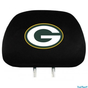 Green Bay Packers headrest covers 2pc | Final Playoff
