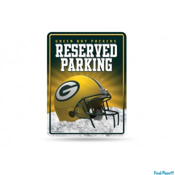 Green Bay Packers metal parking sign | Final Playoff