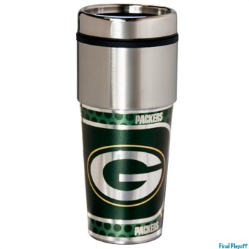 Green Bay Packers travel mug tumbler | Final Playoff