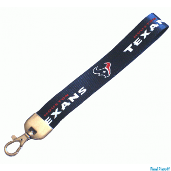 Houston Texans wristlet lanyard lobster clasp | Final Playoff