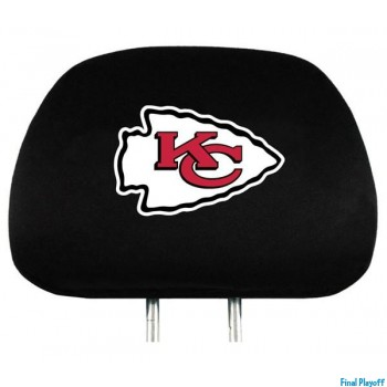 Kansas City Chiefs headrest covers 2pc | Final Playoff