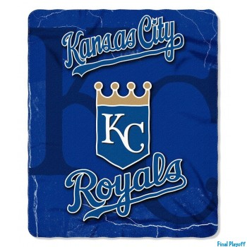 Kansas City Royals fleece throw blanket | Final Playoff