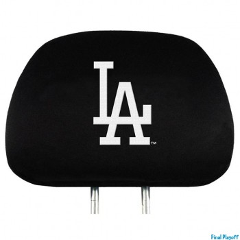 Los Angeles Dodgers headrest covers 2pc | Final Playoff