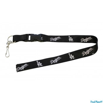 Los Angeles Dodgers lanyard keychain detachable blackout | Final Playoff