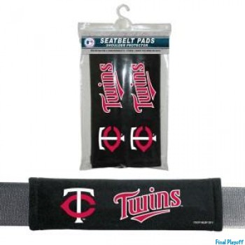 Minnesota Twins seat belt pads | Final Playoff
