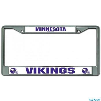 Minnesota Vikings license plate frame holder | Final Playoff