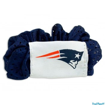 New England Patriots hair scrunchie | Final Playoff
