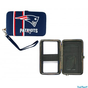 New England Patriots phone case wallet | Final Playoff