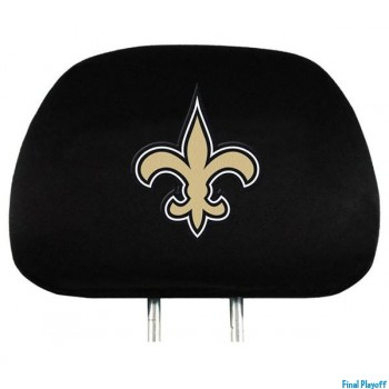 New Orleans Saints headrest covers 2pc | Final Playoff