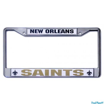 New Orleans Saints license plate frame holder | Final Playoff