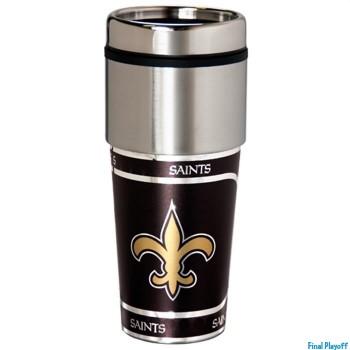 New Orleans Saints travel mug tumbler | Final Playoff