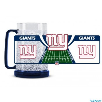 New York Giants freezer mug | Final Playoff