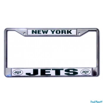 New York Jets license plate frame holder | Final Playoff