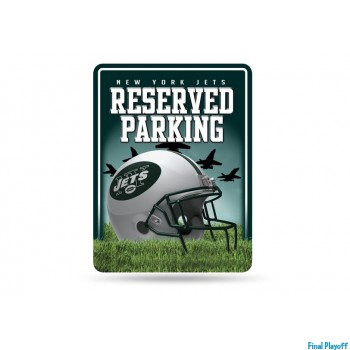New York Jets metal parking sign | Final Playoff