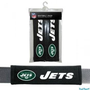New York Jets seat belt pads | Final Playoff