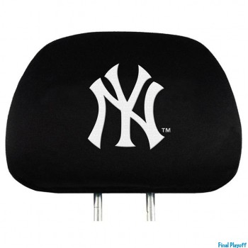 New York Yankees headrest covers 2pc | Final Playoff