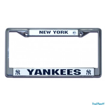 New York Yankees license plate frame holder | Final Playoff