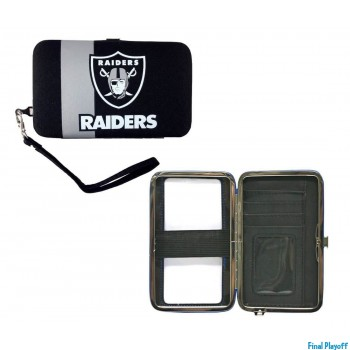 Oakland Raiders phone case wallet | Final Playoff