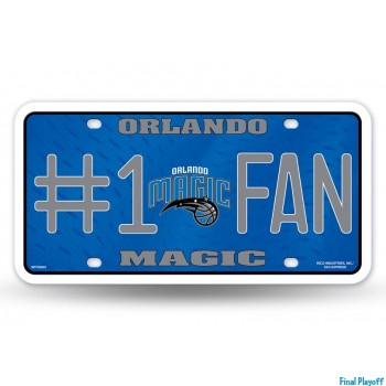 Orlando Magic metal license plate | Final Playoff